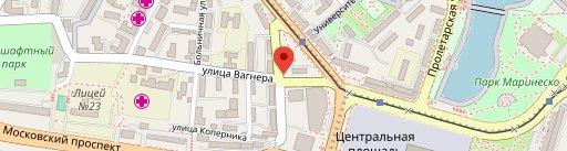 SHASHLICHOK en el mapa