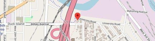 Sokolowski's University Inn on map