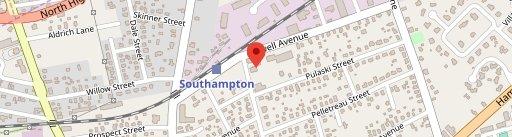 Southampton Social Club on map