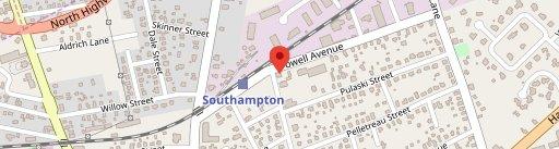 T Bar Southampton en el mapa