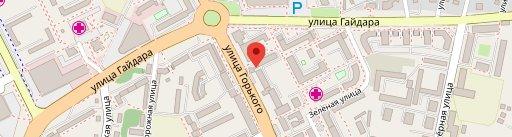 Табаско en el mapa