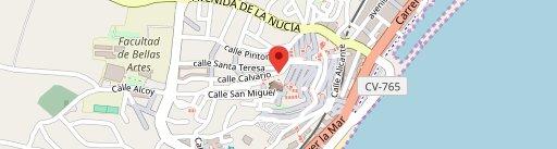 Taberna Del Xef en el mapa