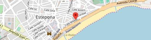 Taberna El Moniato Y Cafetería Churreria El Moniato en el mapa