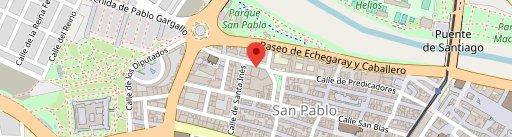 El Rincón de SAS on map