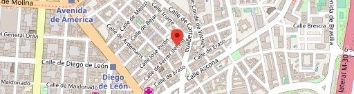Taberna Ipuzcoa en el mapa