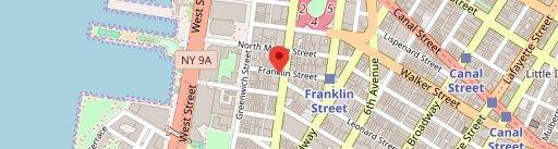 Tamarind Tribeca on map