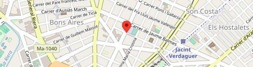TangoPan Pastelería en el mapa