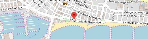 Restaurante Playa en el mapa