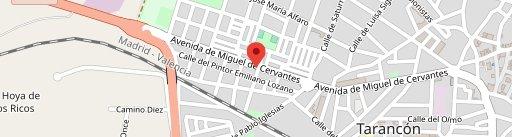 Tapeo Cervantes en el mapa