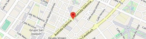 Telepizza en el mapa
