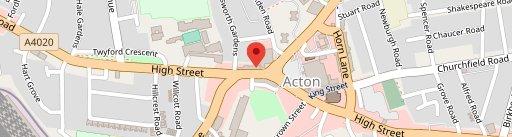 The Aeronaut on map