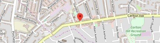 The Brickyard on map