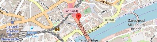 Bridge Tavern on map