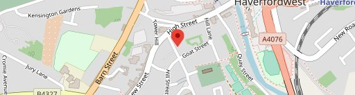 The Georges on map