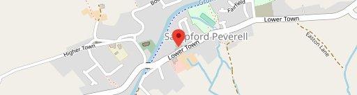 The Globe Inn Sampford on map