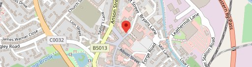 The Rugeley Spice on map