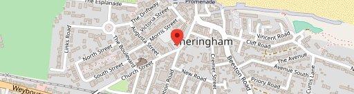 The Sheringham Trawler en el mapa