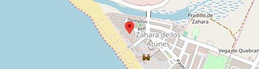 Tia Juana en el mapa