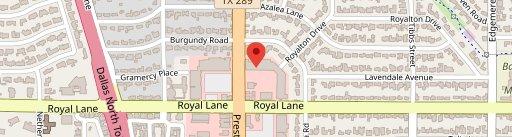 TJ's Seafood Market & Grill - Preston Royal on map