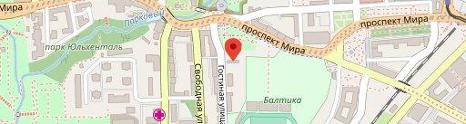 Траттория Пармезан на Гостиной на карте