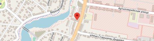 Restoran Turist - Vtoroy Etazh en el mapa