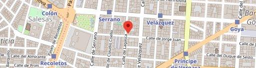 Restaurante Ultramarinos Quintín en el mapa