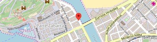 Restaurante Urepel на карте