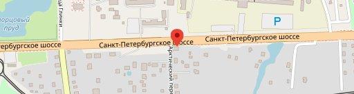 """Отель-Ресторан """"Усадьба Стрелингоф"""" на карте"""
