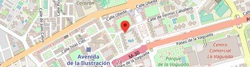 Pizzería Carlos Fermín Caballero en el mapa