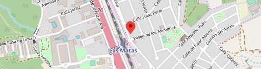 Van Gogh Café en el mapa