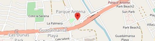 El Caserío on map
