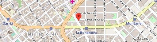 pizza via on map