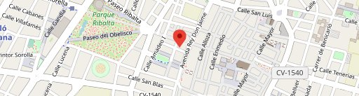 Restaurante Vieja Roma en el mapa