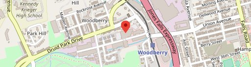 Woodberry Kitchen on map
