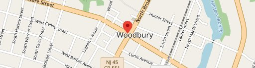 Woodbury Crossing Cafe on map