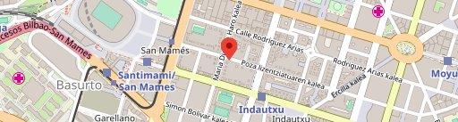 Restaurante Zarate en el mapa