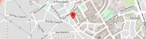 Cafetería Zodiac en el mapa