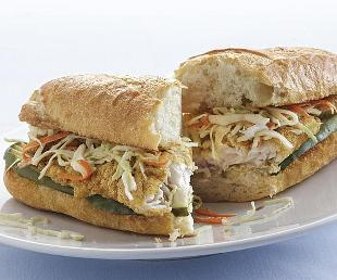 sándwich po' boy