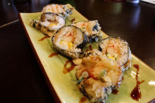 fried sushi