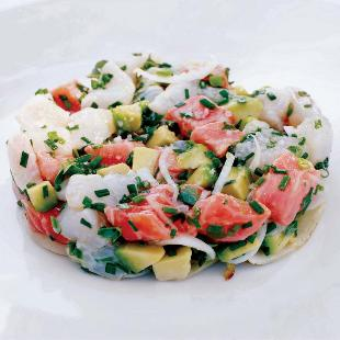ensalada de langosta