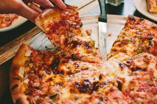 garlic pizza