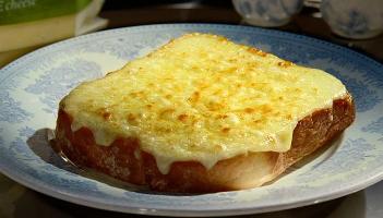 tostas de queso