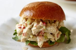 sándwiches de cangrejo