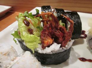 sushi spider roll