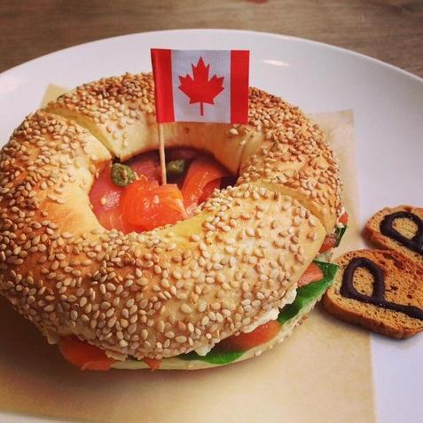 Bagels al estilo montreal
