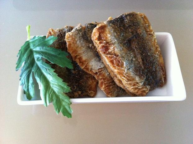 Fried herring