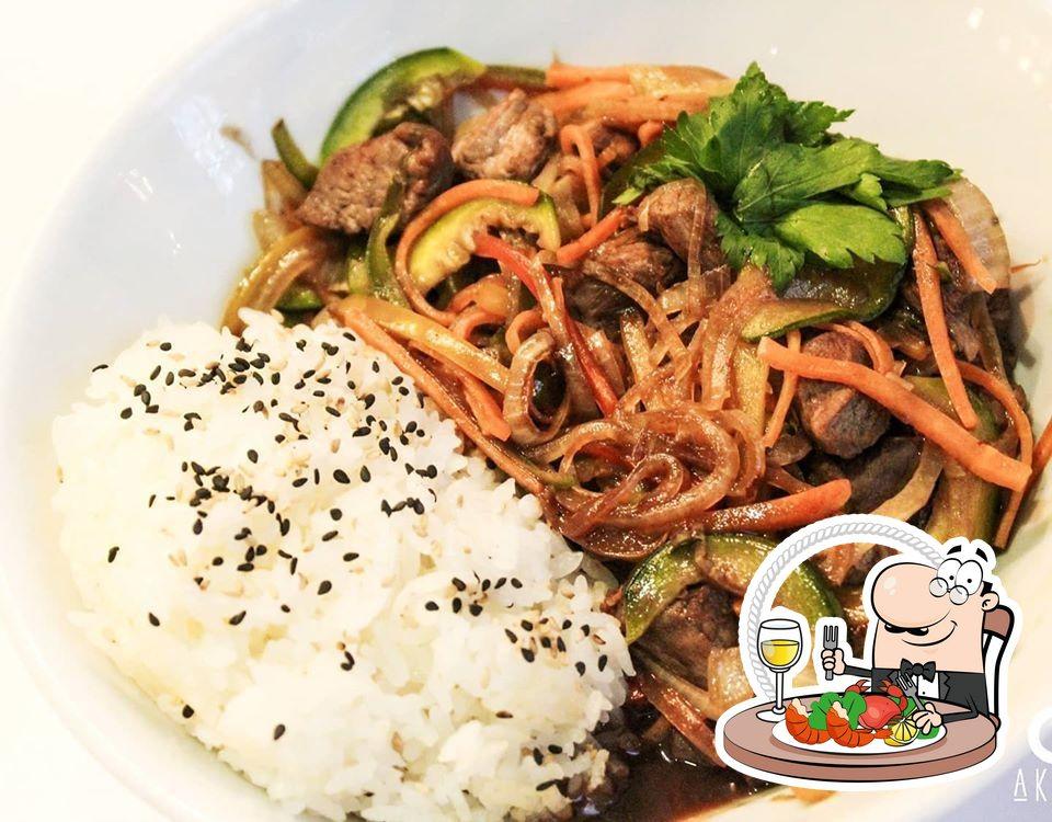 Get seafood at Akari