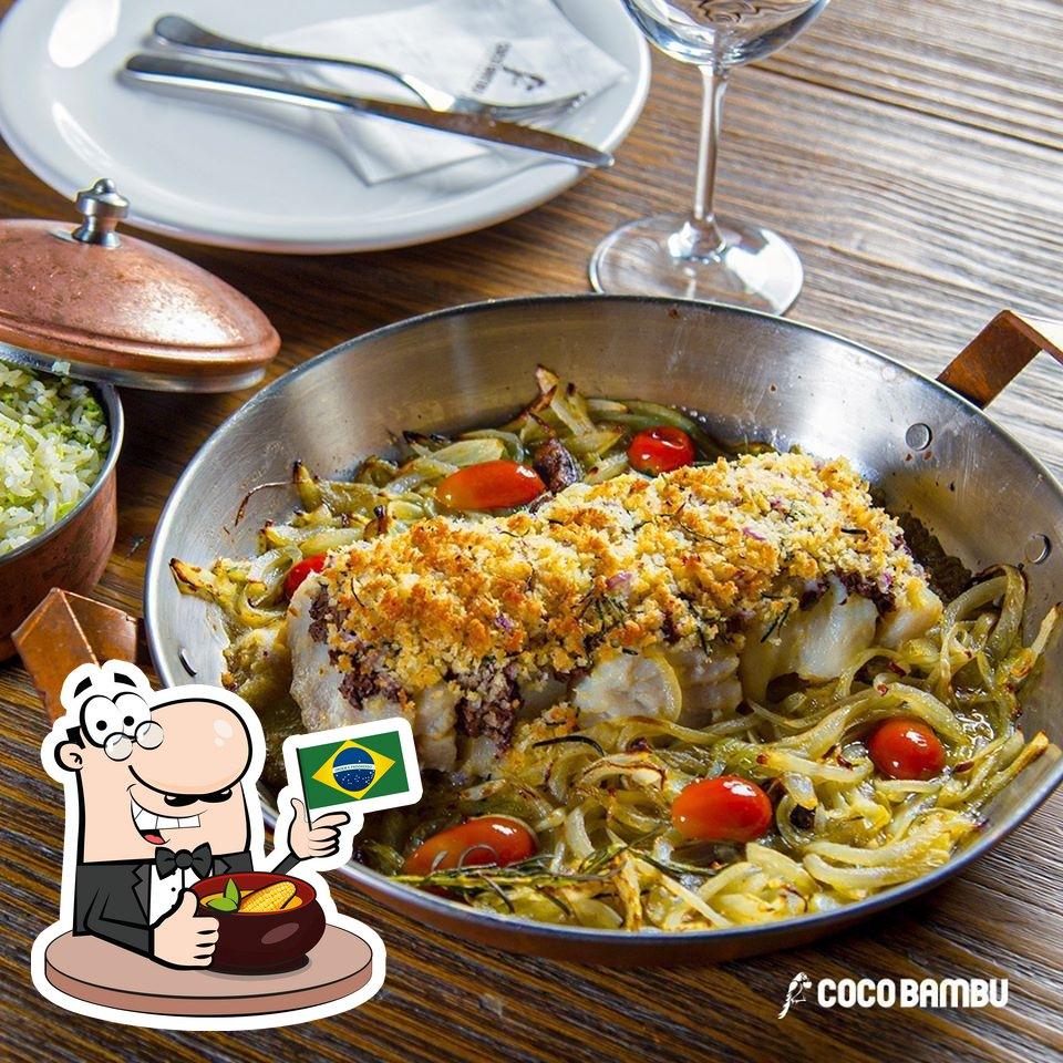 """Еда в """"Coco Bambu"""""""
