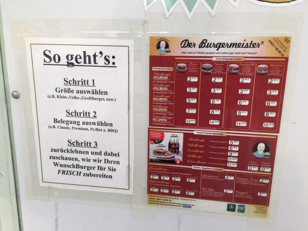 Check out the information about Der Burgermeister