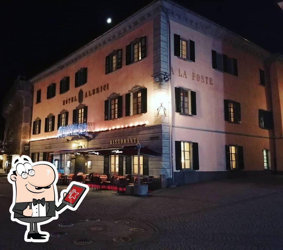 Schaut euch den Außenbereich von Hotel Albrici an